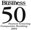 Fastest Growing Company 2004